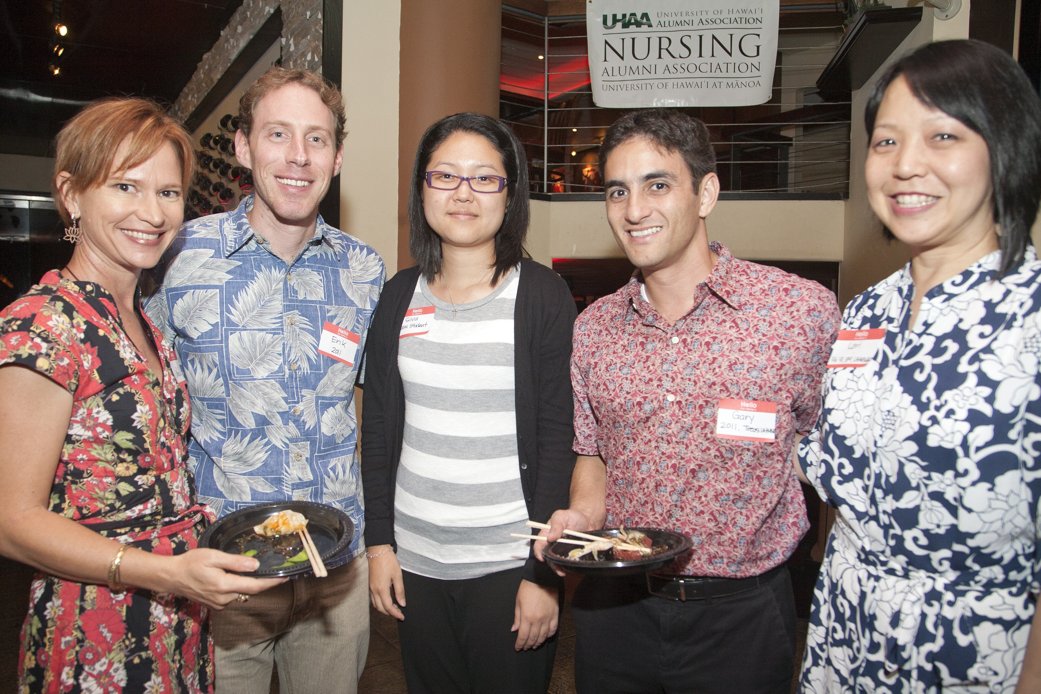 2nd Annual Alumni Homecoming Pau Hana group photo