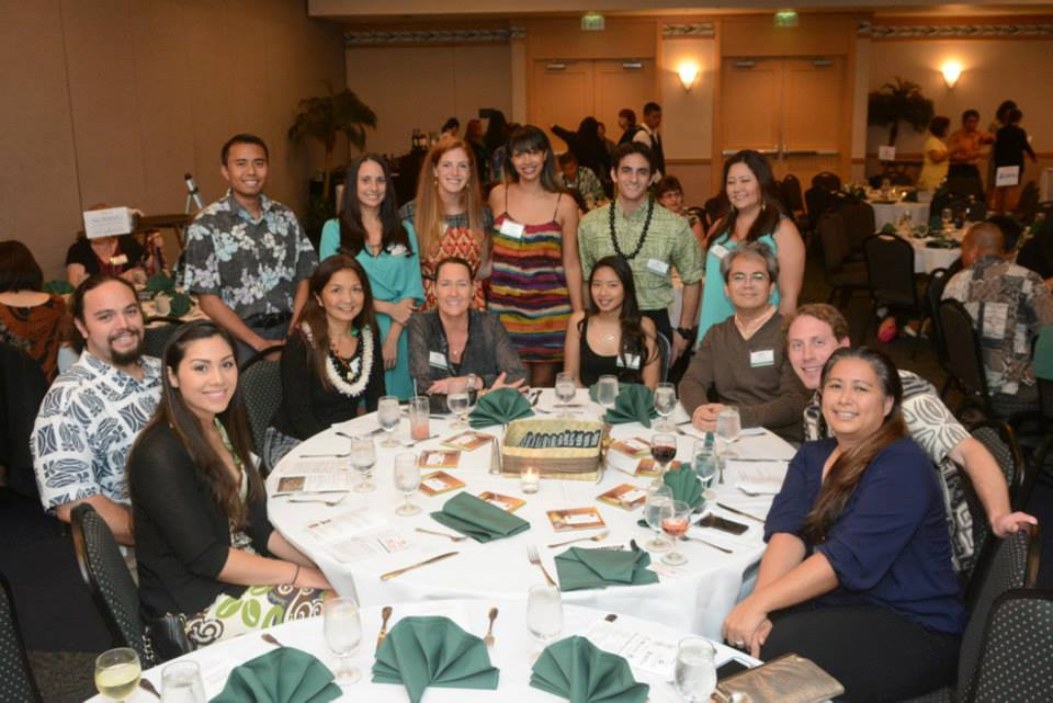 1st Annual Endowed Scholarship Fundraiser group photo