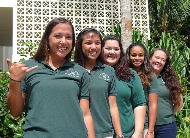 photo of UH Manoa Nursing's Student Ambassadors