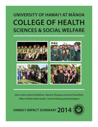 College of Health Science and Social Welfare summary flyer