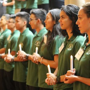 New Nursing Students Recite The Nightingale Pledge