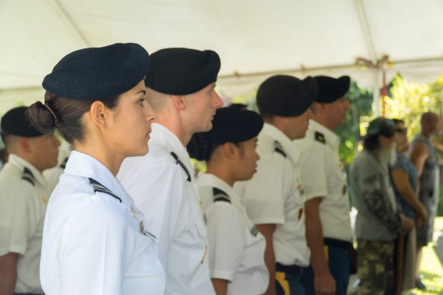 Guests at Veterans Day