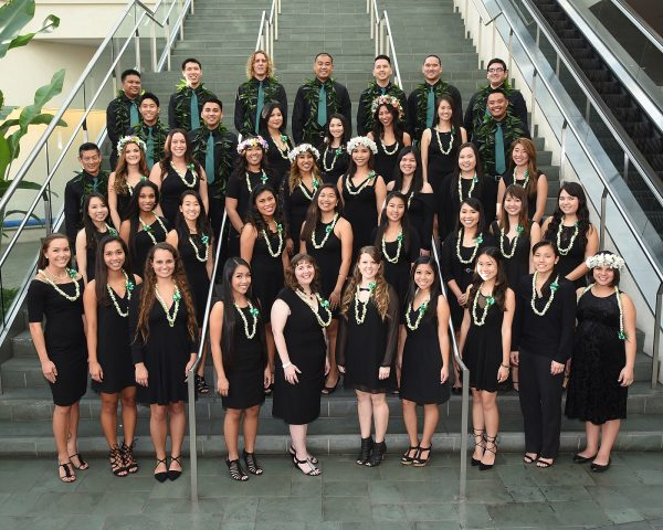 Summer and Fall 2016 nursing graduate group photo