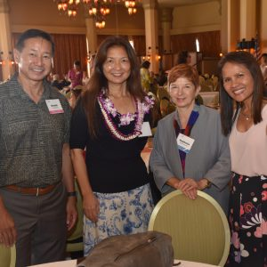 AONE Presents Awards To Lorrie Wong Of UH Manoa Nursing And Zoe Shih Of Hawaii Keiki