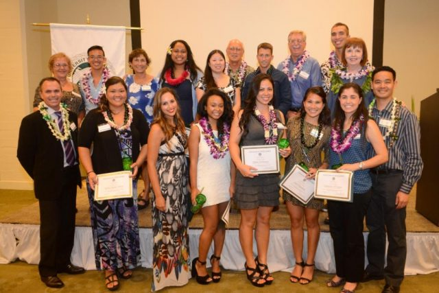 UH Manoa Nursing group photo