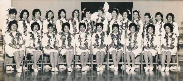 UH nursing Class of 1964's class photo