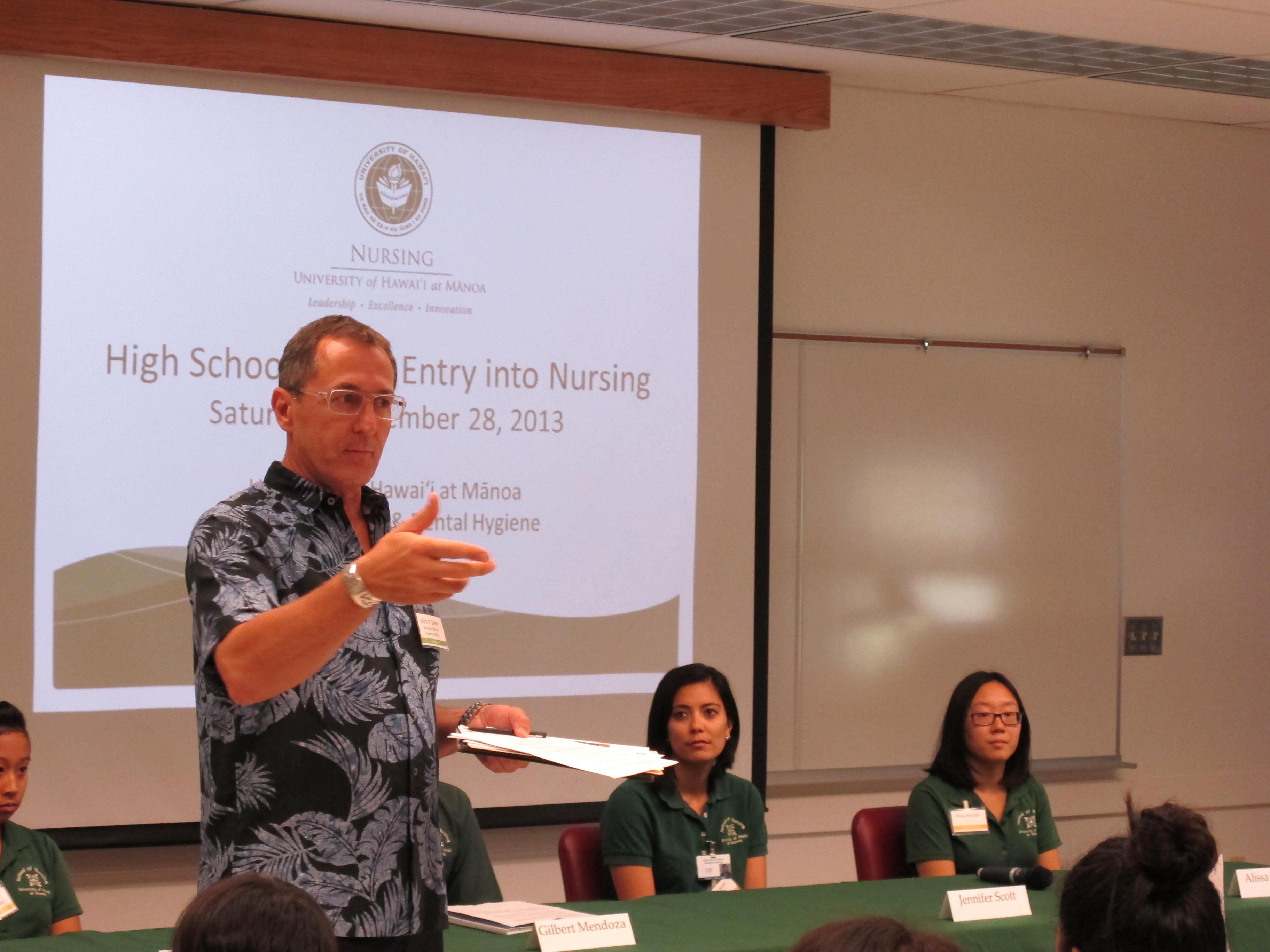 Scott Ziehm gives lecture