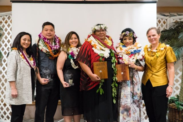 4th annual alumni event awardees