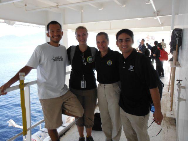 From left: Gabriel El Swaify, Monique Wheeler, Kristine Qureshi, Gary Glauberman