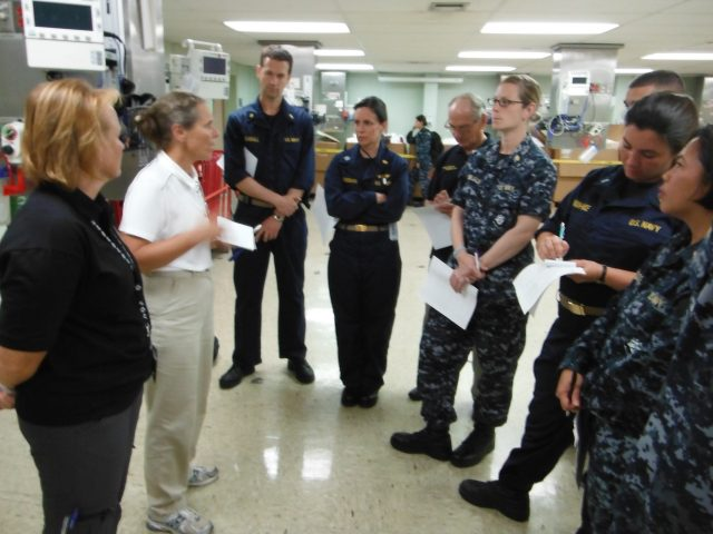 Pacific Partnership 2012 SMEE team in discussion