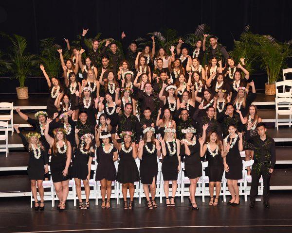 Spring 2018 Nursing Recognition Ceremony group photo