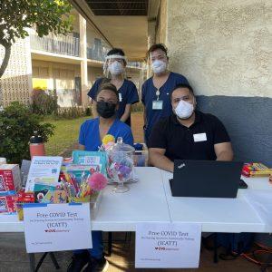 Testing Team At A School