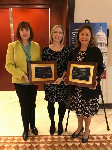 nursing faculty receive awards