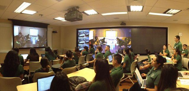 photo of nursing international exchange activity