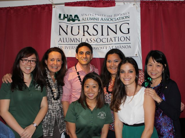 University of Hawaii at Manoa Nursing Alumni Association group photo