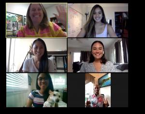 Interdisciplinary Student Team Zoom Picture