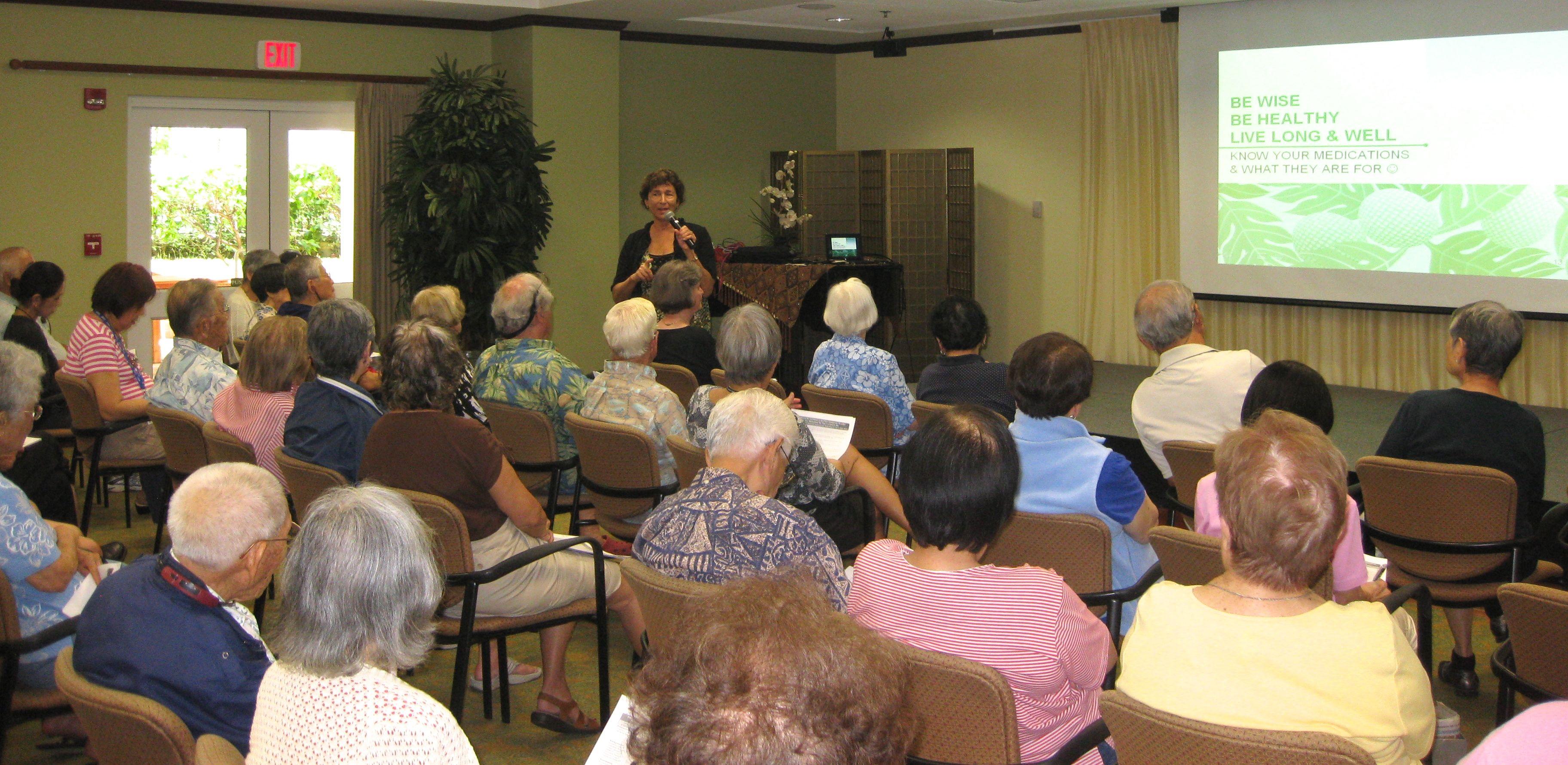 Kahala Nui residents enjoy lecture
