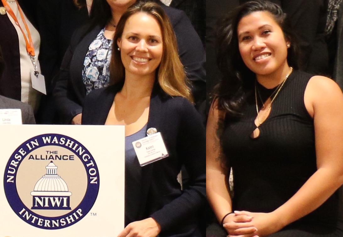 photo of Kaleo V. Correa, PhD, RN and Jennifer Hashimoto, RN, BSN