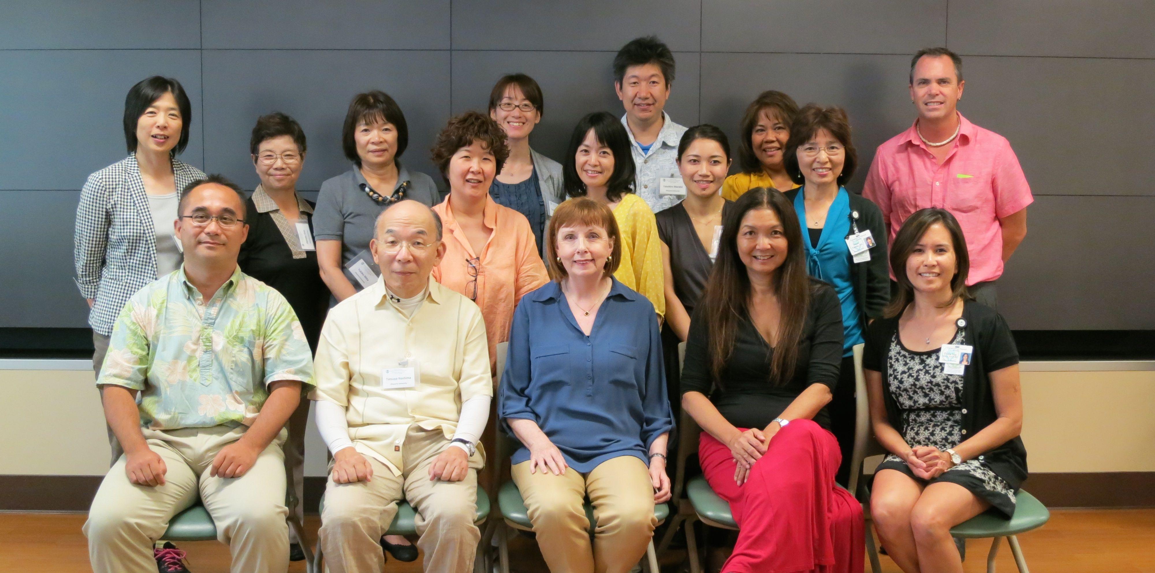 Okayama University group photo