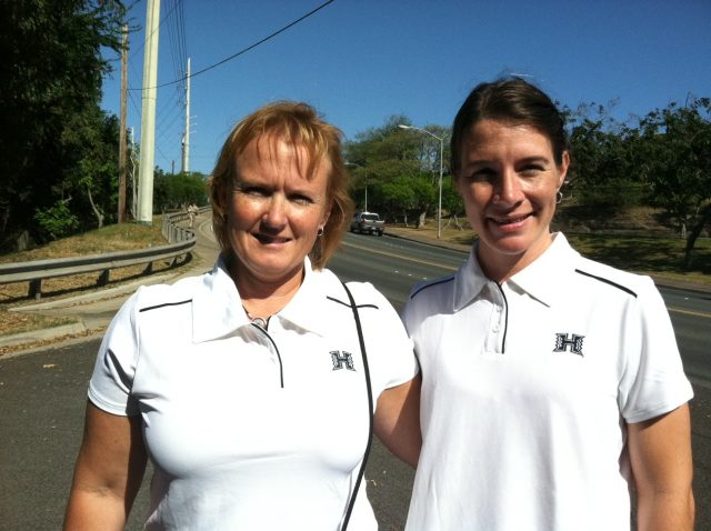 photo of Graduate Student Sarah Sanderlin and Professor Carrie Davis