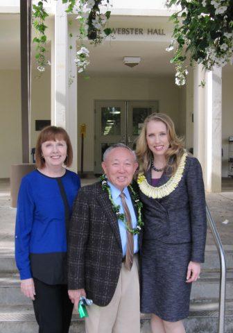 Dr. Lawrence K.W. Tseu smiles for photo