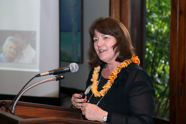 Susan Reinhard speaks