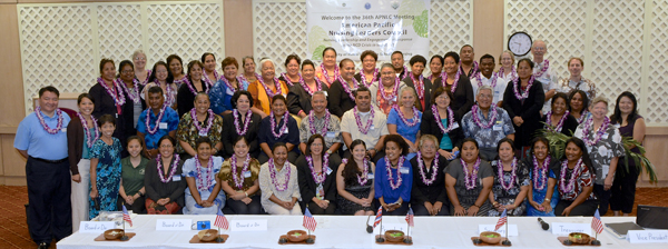 UH Manoa Nursing group photo