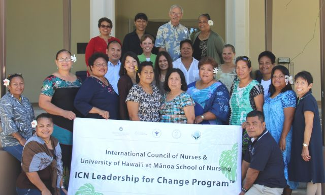 ICN Leadership for Change Programme group photo