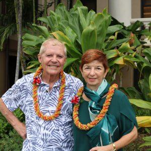 Stephanie Marshall And Chuck Miller