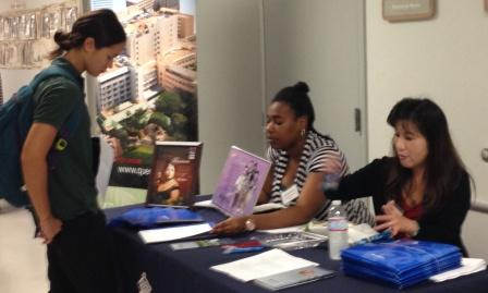 photo of 2013 career fair in action