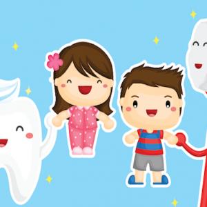 Oral Health Education Illustrations