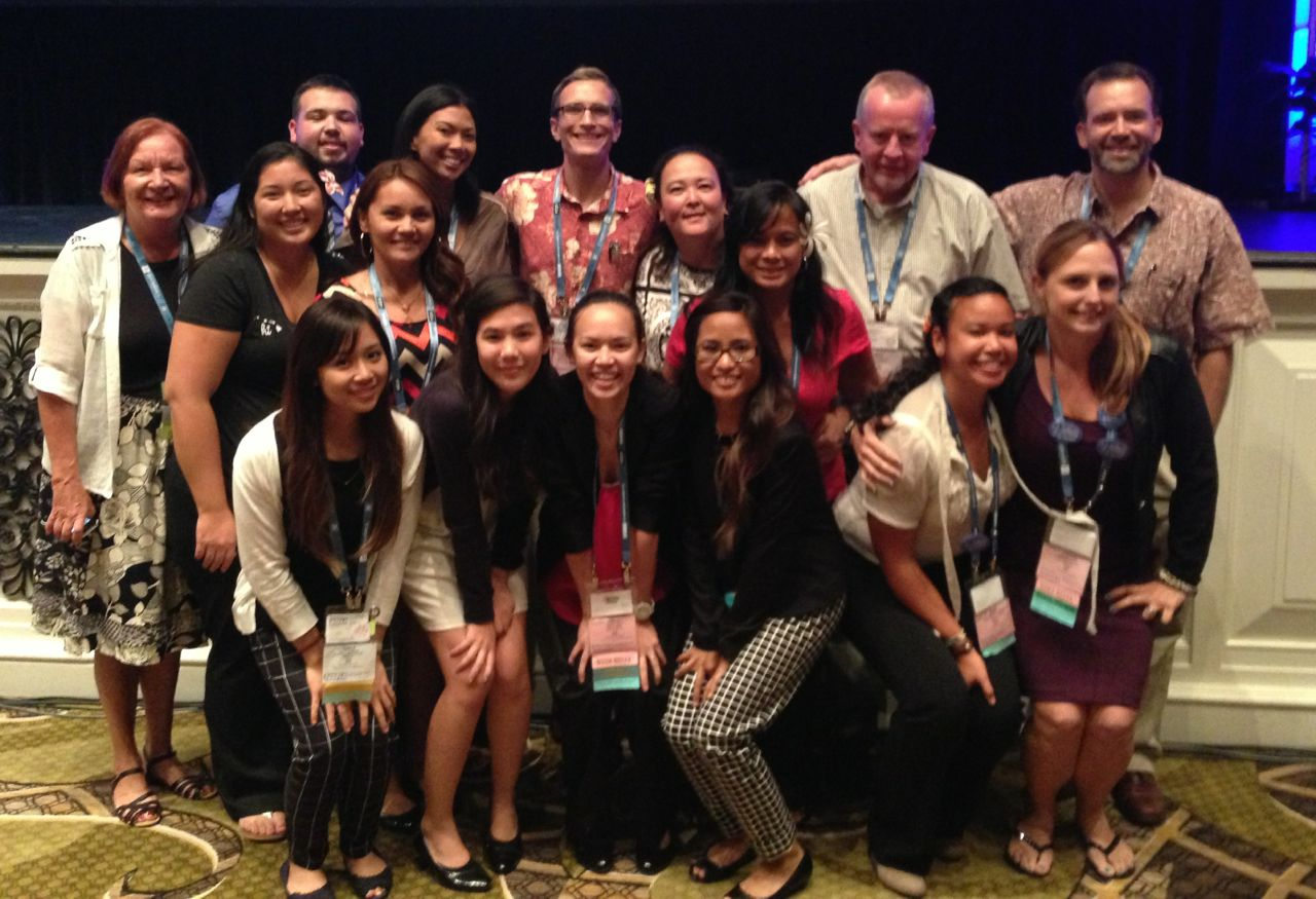 National Student Nurses Association group photo