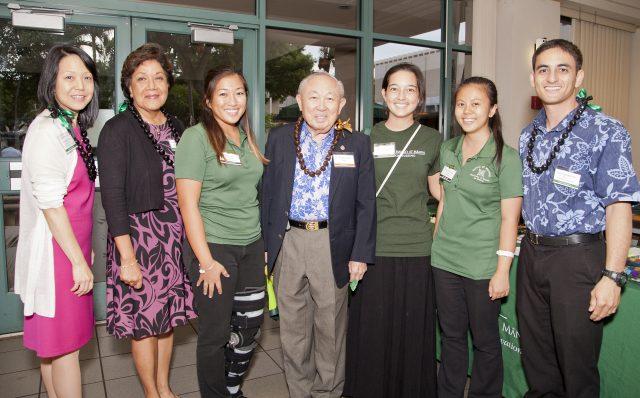 2014 Pau Hana Homecoming Celebration group photo