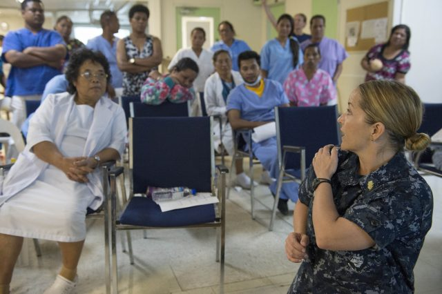 Pacific Partnership Hosts Nursing Conference in Marshall Islands