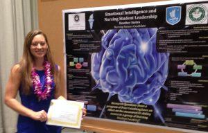 Heather Szeles presents poster