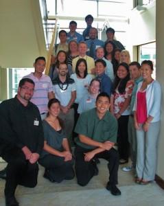 nursing student group photo