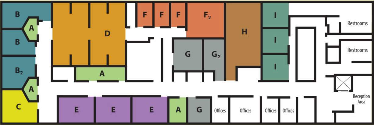 thssc rooms map